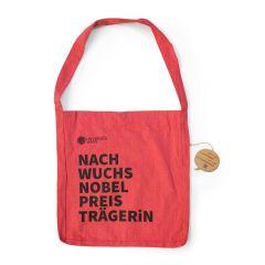 """Umhängetasche """"NachwuchsnobelpreisträgerIn"""""""