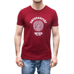 T-SHIRT UNIVERSITÄT ROT (HERREN)