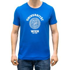 T-SHIRT UNIVERSITÄT BLAU (HERREN)